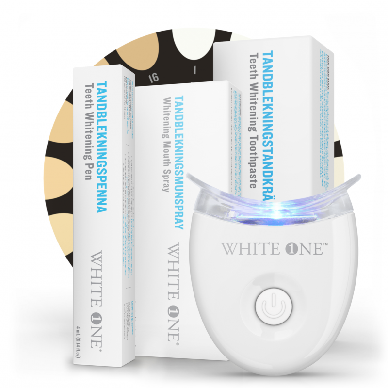 White One Ultimate startkit med rabatt.