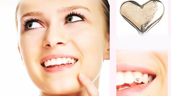 Tandblekning med tandsmycke