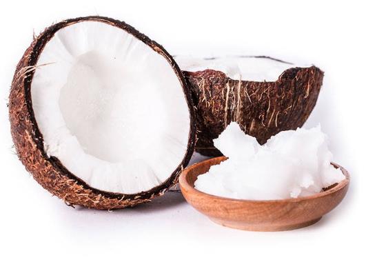 Huskur (tandblekning) med kokos och Oil pulling