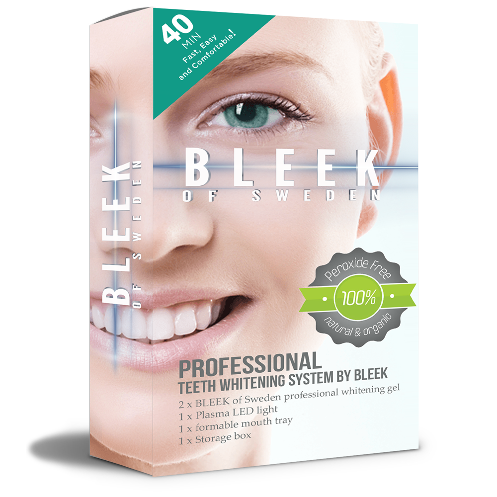 Bleek of Sweden BLEEK PRO startkit med gratis laser.